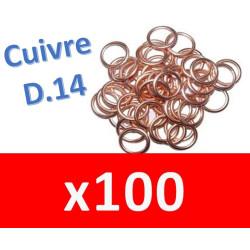 100 Joints vidange D14