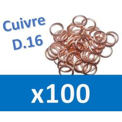 100 Joints vidange D16