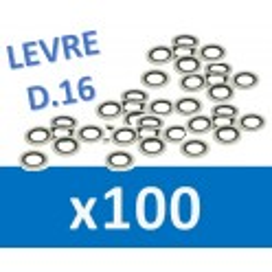 100 Joints D16 à lèvre