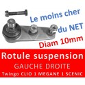 ROTULES SUSPENSION RENAULT