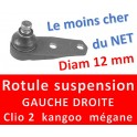 ROTULES SUSPENSION RENAULT diam 12