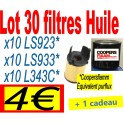 lot 30 filtres huile
