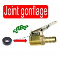 Joint embout de gonflage